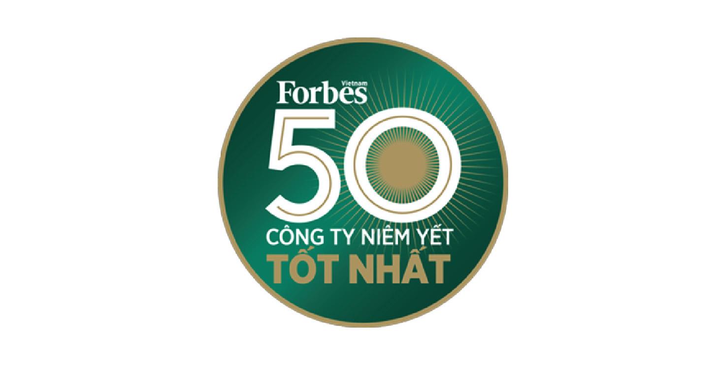 Top 50 Doanh nghiệp niêm yết tốt nhất Việt Nam 2016 - do Tạp chí Forbes Việt Nam bình chọn