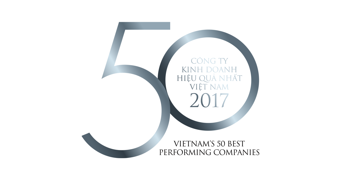 Giải thưởng Top 50 Công ty Kinh doanh hiệu quả nhất Việt Nam 2017