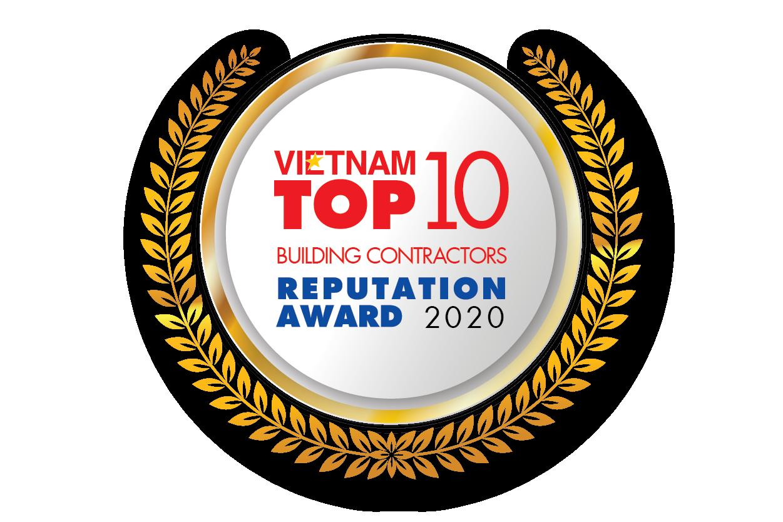 Giải thưởng Top 10 Nhà thầu xây dựng uy tín 2020