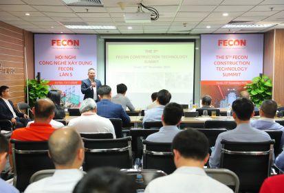 Nhiều chủ đề hấp dẫn được chia sẻ tại Hội nghị công nghệ xây dựng FECON lần thứ 5