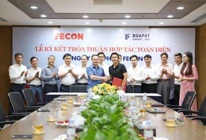 Hợp tác toàn diện FECON - ĐUA FAT: Cộng lực để làm lớn