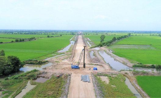 Cao tốc Lộ Tẻ Rạch Sỏi – Cầu vượt dân sinh tại kinh 17 – kinh 18