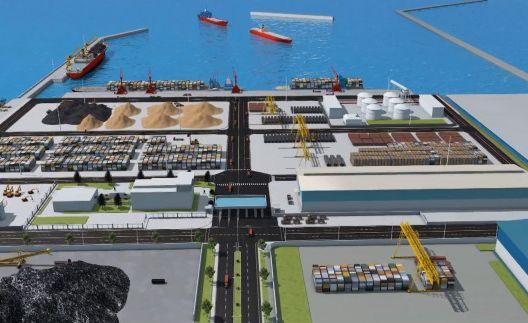 Cảng thủy nội địa tổng hợp Vĩnh Tân