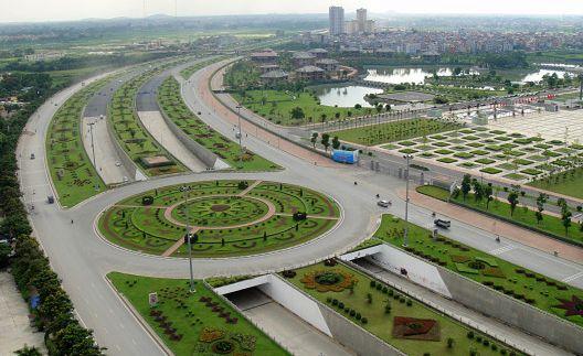 Đầu tư xây dựng mở rộng và hoàn thiện đường Láng Hoà Lạc