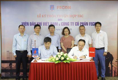FECON hợp tác cùng VPI nghiên cứu và phát triển các dự án hạ tầng năng lượng sạch gần và xa bờ