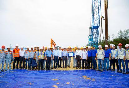 FECON triển khai thi công cụm trang trại điện gió trên bờ lớn nhất Việt Nam